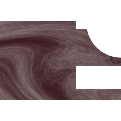 3 / 4'' RADIUS COVE - 5 / 4 DOORS STILE & RAIL SET